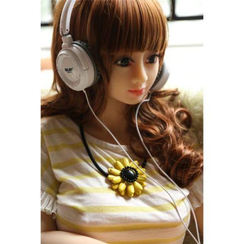 Супер-реалистичная секс-кукла силиконовая XiaoXliao 125 см