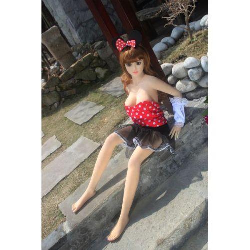 Супер-реалистичная секс кукла силиконовая  Belle 125 см