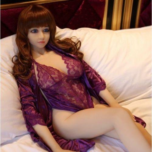 Супер-реалистичная кукла для секса силиконовая 146 см с лицом NO.C03