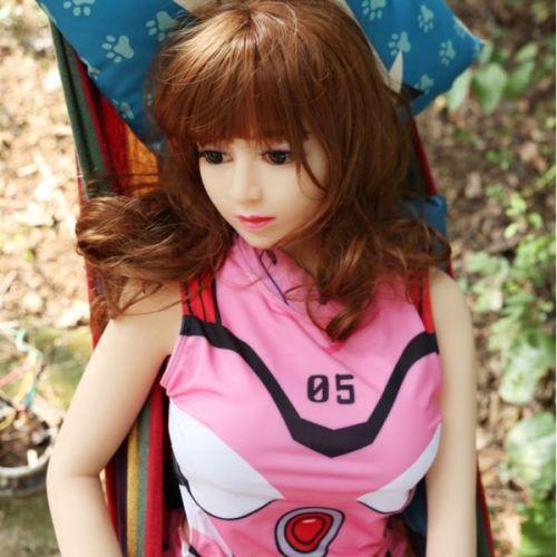 Супер-реалистичная кукла для секса силиконовая 146 см с лицом NO.C02