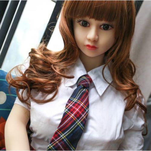 Супер-реалистичная кукла силиконовая Школьница146 см с лицом NO.B03