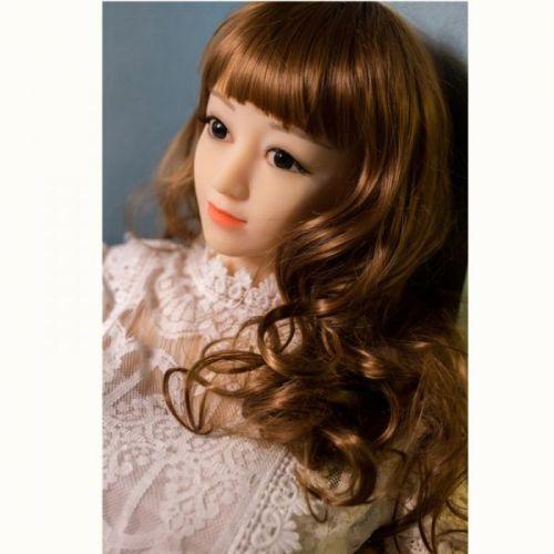 Супер-реалистичная секс кукла силиконовая QianQian 160 см