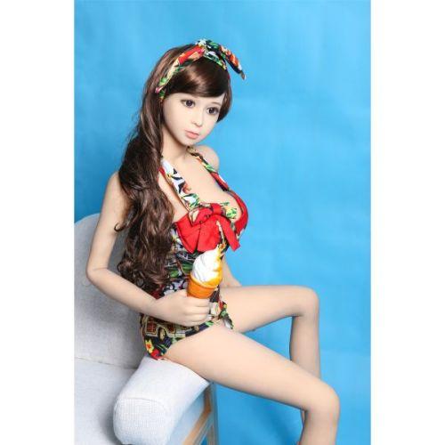 Супер-реалистичная секс-кукла силиконовая  XiaoTian 155 см