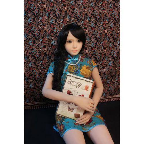 Супер-реалистичная секс-кукла силиконовая Nicole 155 см
