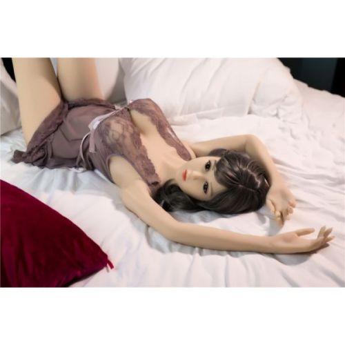 Супер-реалистичная секс кукла силиконовая JiaJia 160 см