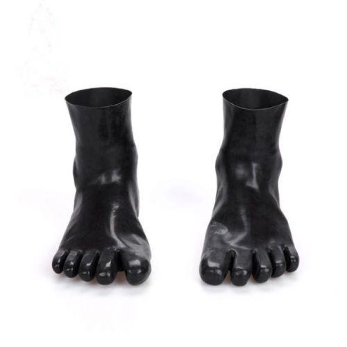 Носки с пальцами из натурального латекса