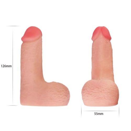 Реалистичный фаллос для ношения Skinlike Limpy Cock 5