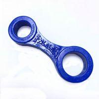 Анальный замок на пенис для фиксации Hoolalass Anal Lock System синий