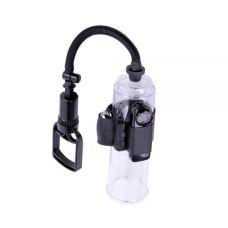 Вакуумная помпа на пенис с вибрацией Vibration Accu-Meter Power Pump X4