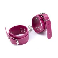 Розовые наручники для БДСМ