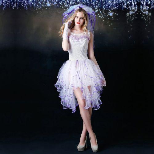 Эротический костюм Миленькая модная невеста S/M JSY