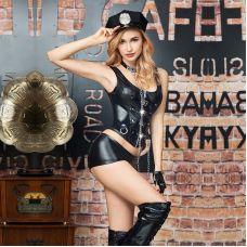 Женский костюм для ролевых игр Грязный полицейский S/M