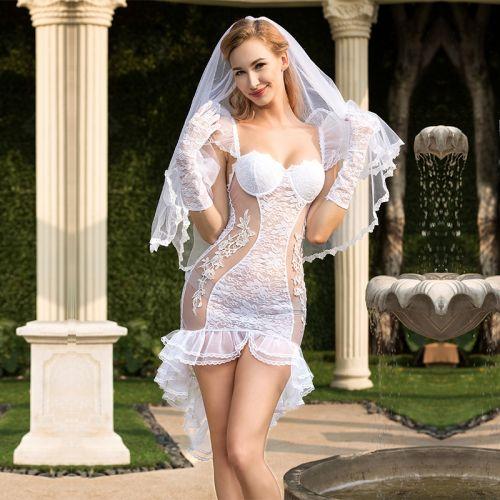 Костюм Невесты Секс Желание S/M JSY