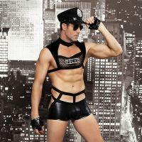 Сексуальный костюм Серьезного полицейского S/M JSY