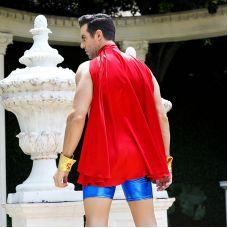Костюм непобедимого Супермена в Сексе S/M