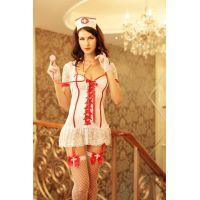 Эротический игровой костюм медсестры S/M JSY