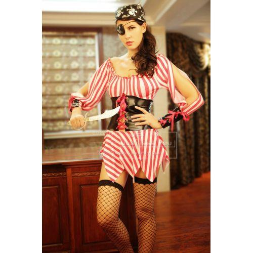 Интимный костюм Кровожадной Пиратки Секс на палубе S/M