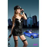 Эротический костюм Останови Меня Старшего инспектора полиции S/M JSY