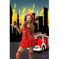 Эротический костюм для секса Зажги Меня милашки-пожарницы S/M