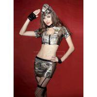 Эротический костюм Секс в армии сексуальный сержант S/M