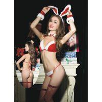 Комплект костюм рождественского кролика S/L