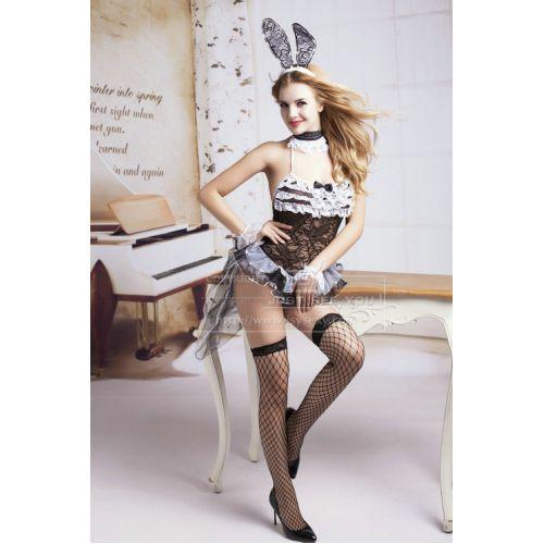 Сексуальный костюм лучезарного зайчика S/M JSY