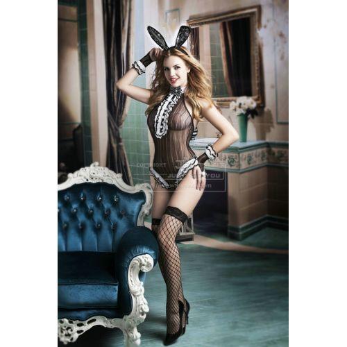 Эротический костюм секси кролика S/M JSY