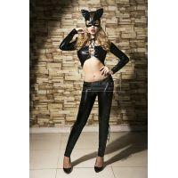 Эротический костюм для секса дикой кошки S/M