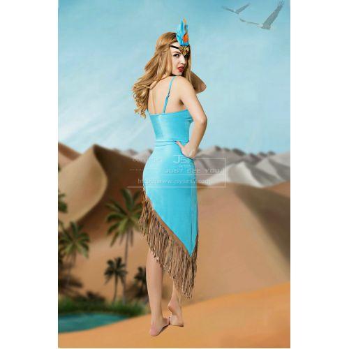Эротический костюм для ролевых игр Восхитительная Горячая Индианка S/M JSY