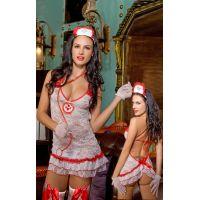 Эротический женский костюм для ролевых игр Секси спасатель JSY S/M