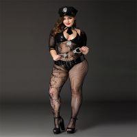 Костюм для ролевых игр Большая Опасная женщина-полицейский XL/XXL
