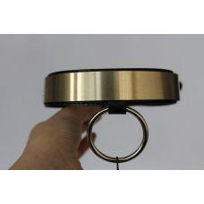 Кожаный ошейник золото для БДСМ Scappa KL-11