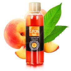 Масло для эротического массажа с вкусом персика Eros exotic 75 мл