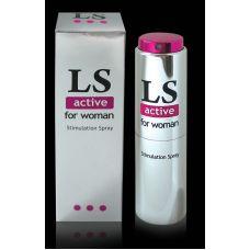 Возбуждающий спрей для женщин Lovespray active (стимулятор) 18 мл