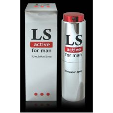 Возбуждающий спрей для мужчин (стимулятор) Lovespray active 18мл