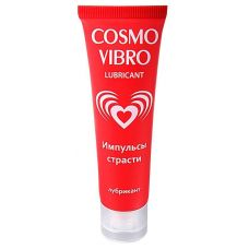Стимулирующий лубрикант для женщин с вибрацией Биоритм COSMO VIBRO 50 мл