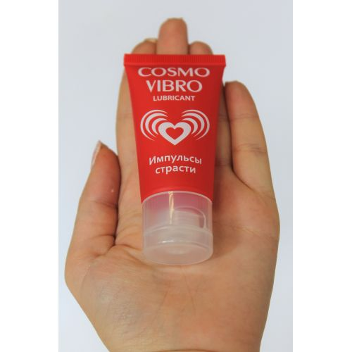 Жидкий вибратор-смазка на силиконовой основе COSMO VIBRO для женщин 25 г