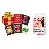 Подарочный набор кремов-возбуждалок и смазок для секс-богинь LB-24001