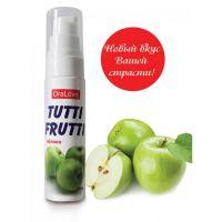 Оральный лубрикант для секса со вкусом яблока Tutti-frutti 30 ml