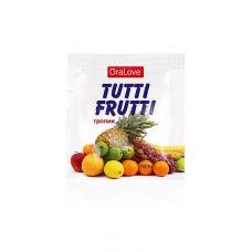 Оральный лубрикант Биоритм Tutti-frutti с ароматом тропика 4 ml