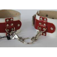 Кожаные оковы для ног или рук медсестры для БДСМ Scappa LC-14