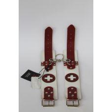 Кожаные оковы для ног медсестры для БДСМ Scappa LC-14