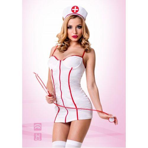 Развратный костюм сексуальная Медсестричка L/XL Le FRIVOLE