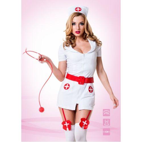 Костюм для секса Похотливая Возбужденная Медсестра M/L Le FRIVOLE