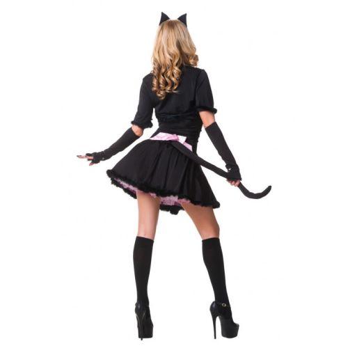 Эротический костюм для ролевых игр Гламурная Няшная Киска S/M JSY