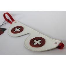 Кожаная маска медсестры Scappa