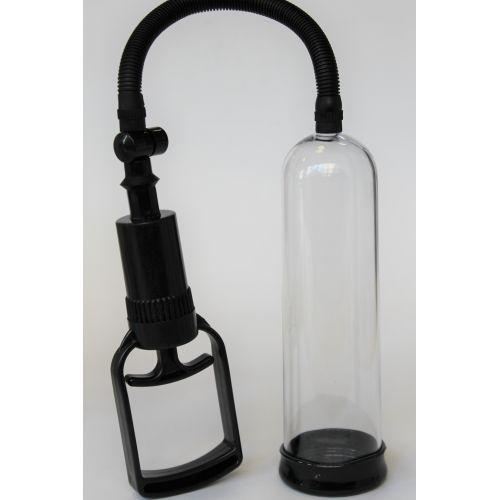Помпа вакуумная для увеличения Члена и Эрекции силиконовая M.E.D  L 19,2 см D 5,5 см