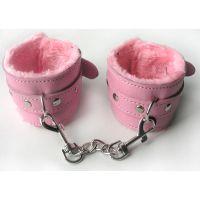 Наручники для секса розовые Notabu MLF-90042-6