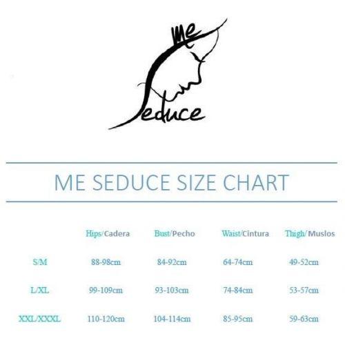 Портупея красная для БДСМ Me-Seduce Harness 3 L\XL