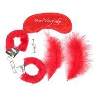 Набор для БДСМ в ярко-красном цвете Notabu NTB-80333